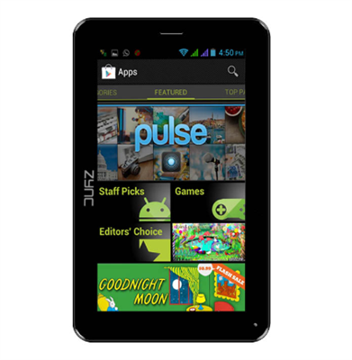 Zync Z99 2G tabletFull specifications, features and price in India