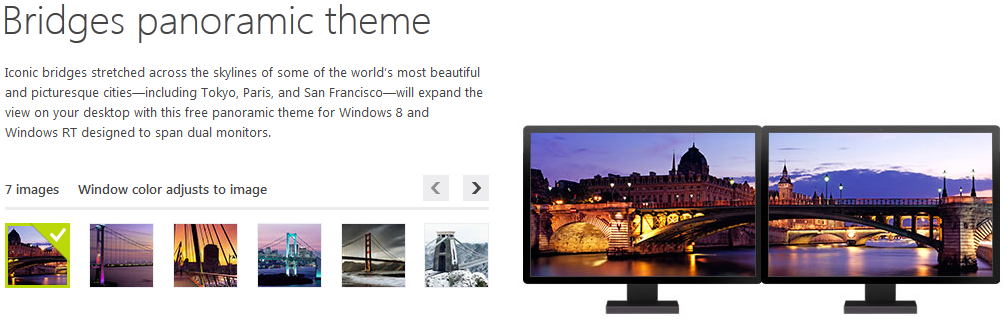 Install Windows 8 Themes Wallpaper on earlier versions of Windows