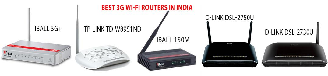 Best 3G Wi-Fi routers in India