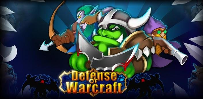 Defense of Warcraft logo