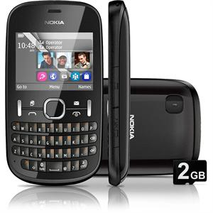 Nokia Asha 200 mobile phone