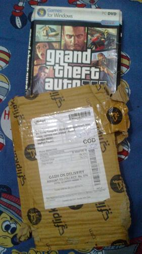 My Personal Experience - Ordered GTA 4 PC Game CD