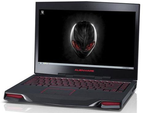 Alienware M14x laptop