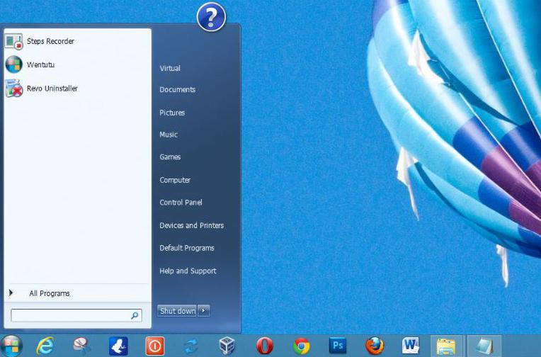 how to start windows xp mode in windws 7