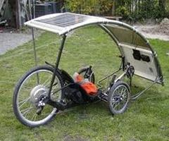 solar powered bikes
