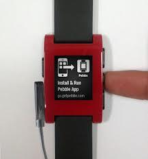 Pebble watch connectivity