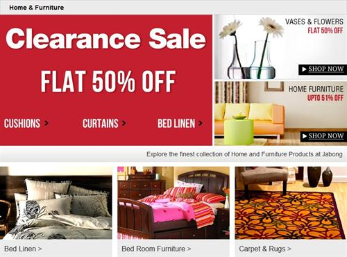 Jabong Clearance Sale Latest Offers And Discounts Up To
