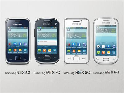 Samsung REX 60, REX 70, REX 80, REX 90 smart feature phones launched in India