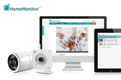 Home monitor security system