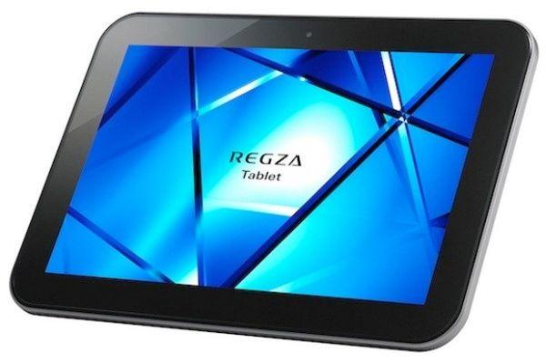Toshiba Regza AT501 tablet: Full specifications, features and price in Japan