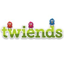 Twiends best logo Twitter.com and Twiends.com