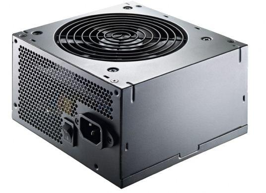 Cooler Master Thunder 500 W - Side view of SMPS