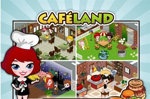 Cafeland Facebook game