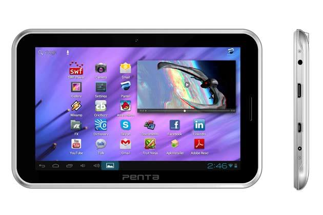 Penta T-Pad WS708C tablet: Full specifications, features and price in India