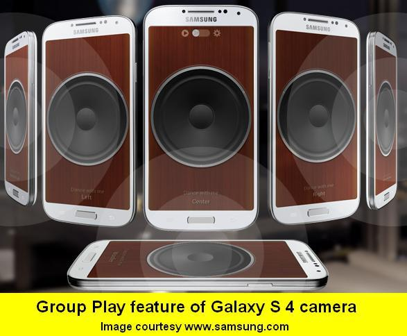 4-GROUP PLAY FUNCTION OF SAMSUNG GALAXY S 4