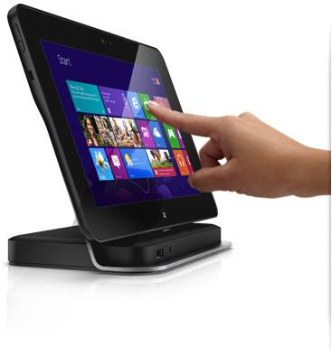 Dell Latitude 10 ST2 with docking stand