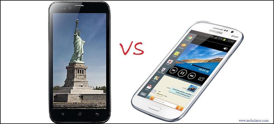 Karbonn Titanium S5 vs Samsung Galaxy Grand Duos