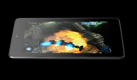 Games on Google Asus Nexus 7 tablet