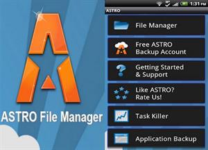 ASTRO File Manager/Browser