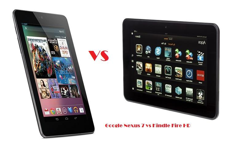 Asus Google Nexus 7 vs Kindle Fire HD