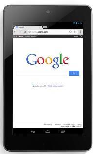 Google Asus Nexus 7 tablet