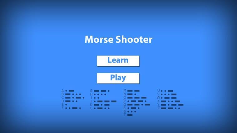 Morse Shooter
