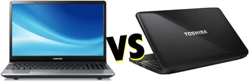 Comparison between Samsungs NP300E5C and Toshibas Satellite C850-I0110 laptops