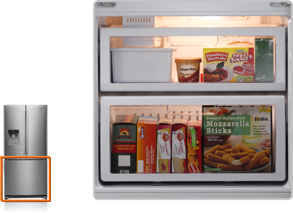 Samsung refrigerator - RF67-579L – features, specifications and reviews