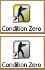 LOGO two shortcut icons