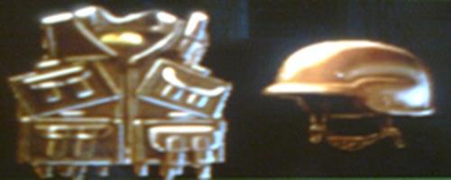 Kevlar + Helmet