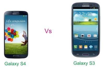 Comparison Galaxy s3 And s4 Samsung Galaxy s4 vs Galaxy s3