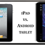 Compare iPad and Android tablets