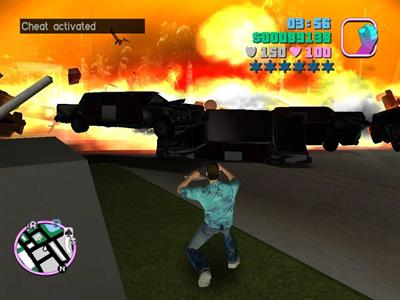 GTA Vicecity cheats