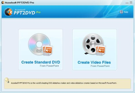 Acoolsoft PPT to DVD