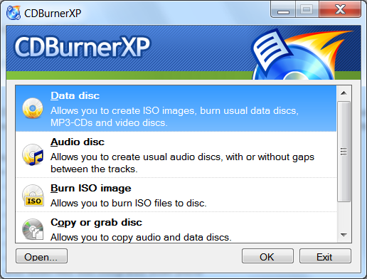 CD Burner XP