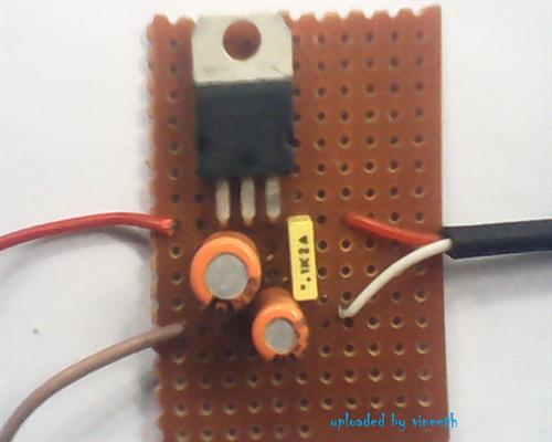 Regulator on PCB