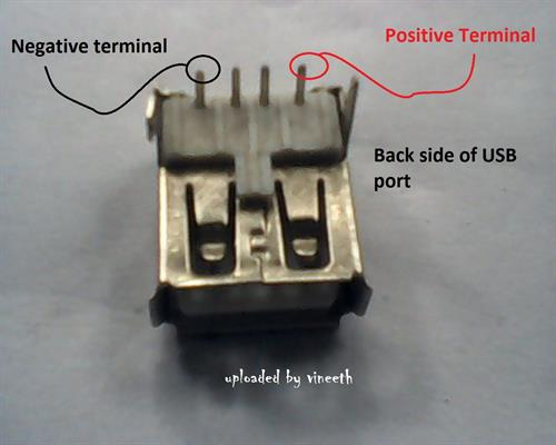 USB Female connector