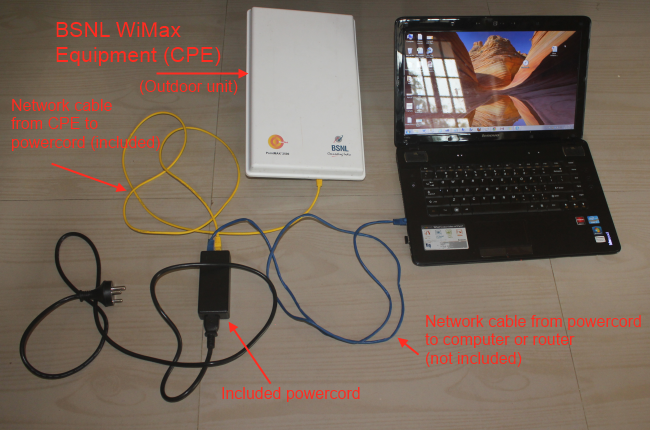 How To Install Configure And Setup Bsnl Wimax