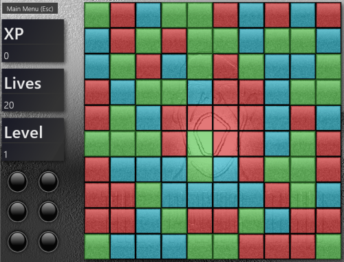 The Panic Grid - Windows 8 Puzzle Game