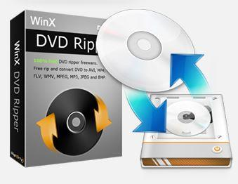 WinX DVD ripper software image