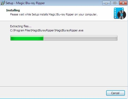 Magic Blu ray Ripper  Installation