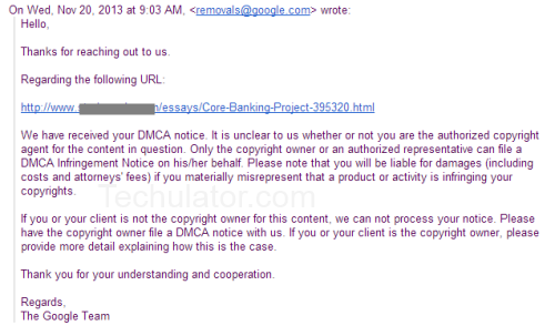Respond to DMCA Complaints