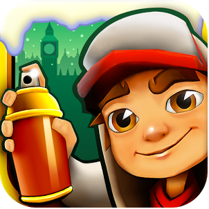 Subway Surfers Christmas London edition official logo
