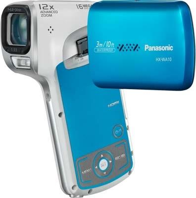 Panasonic HX-WA 10 HD Waterproof Dual Camcorder