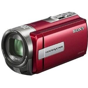 Sony DCR-SX45E Camcorder with 60x Optical Zoom (Red)