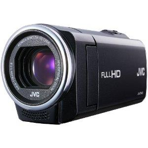 JVC GZ-E10 1.5MP Memory Camcorder with 40x Optical Zoom (Black)