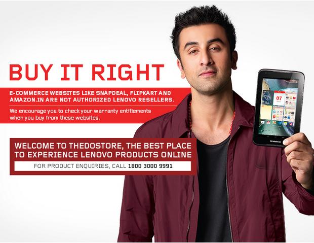 cd0464e2ab9 Lenovo and Toshiba Says Flipkart