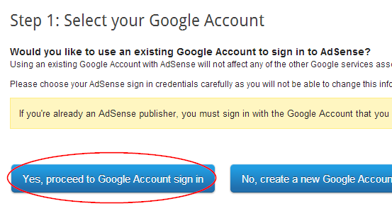 Sign in to alternate account
