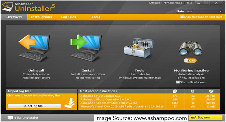 Review of Ashampoo Uninstaller 5: Remove all traces of