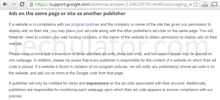 Multiple AdSense account ads in the same page